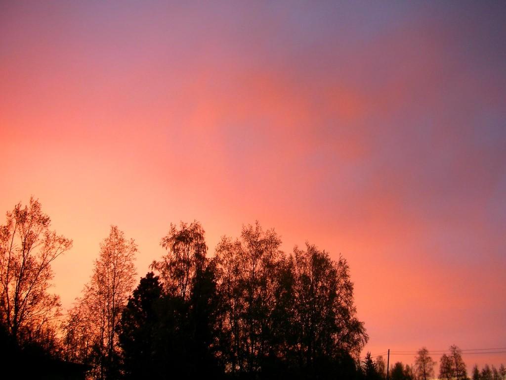 Sky Evening landscape sunset