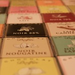 Suklaalevyjä Suklaapuodissa