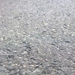 Asphalt ground