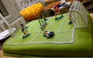Jalkapallo Syntymäpäivä Kakku