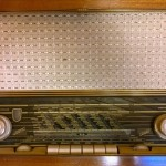 Old Wooden Retro Radio